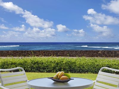 Photo for Poipu Kapili #57: Spacious end unit with Oceanfront Views & Privacy!