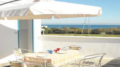 Photo for House Alexandra in Ostuni, with charming Terrace on the Sea and Panoramic View