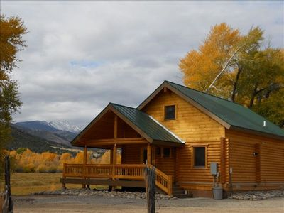 Photo for Post Office Ranch Log Cabin 12 Miles from Ski Area rates based on 2 people