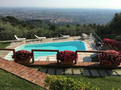Photo for Villa the Uliveta, in the heart of the Pistoia hills ..