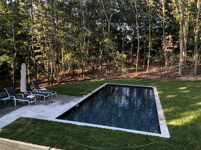 Photo for New Listing! Comfortable Sag Harbor Rental with Pool.