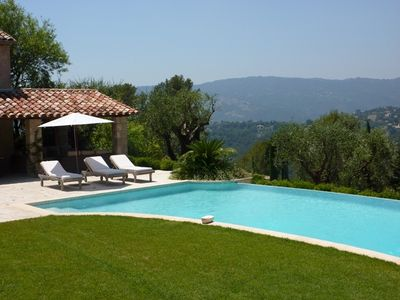 Photo for Charming property with wonderful views in the heart of Mougins!