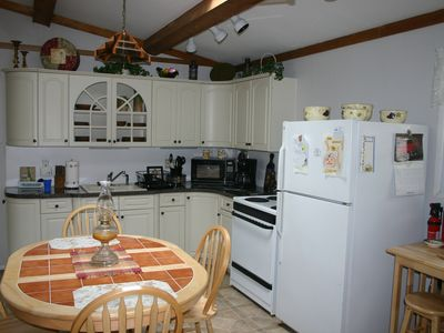 Photo for Comfortable 3br Pocono Rancher, Lake View in Peaceful Locust Lake Village