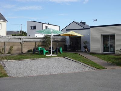 Photo for holiday home with covered and heated private pool.