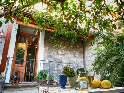 Photo for One bedroom Apartment, sleeps 3 in Vico Equense with Air Con and WiFi