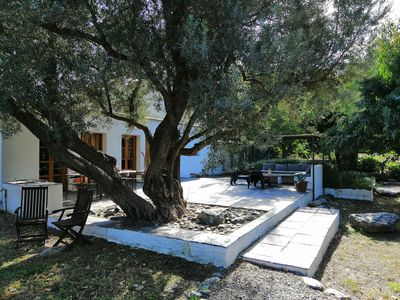 Photo for Villa with Private Pool, Surrounded by Mountains, Olive, Walnut and Orange Trees