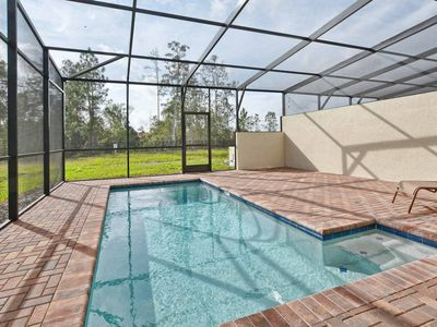 Photo for BRAND NEW!! PROFESSIONALLY DECORATED, FREE WIFI, PRIVATE SOUTH FACING POOL!!!!