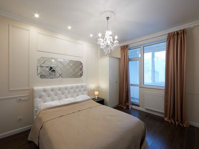 Photo for Royal Tower Kiev Apartment 2 Beds - 2 Baths with free spa & sauna