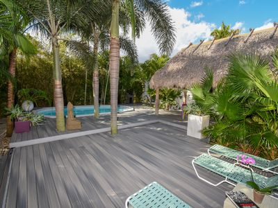 Photo for NoBeVIP: The CHILLHOUSE - Miami With Heated Pool, Tiki Hut And Large Deck