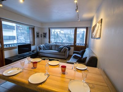 Photo for Barrats - Cosy apartment with Mont Blanc view
