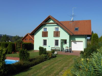 Photo for Very luxurious and comfortable villa near Lipno lake