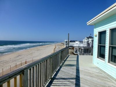 Ocean Side of House from Top Deck looking South