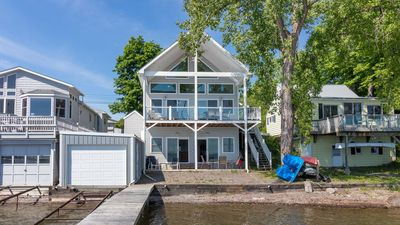 Photo for Vacation in this contemporary lakeside cottage on the west side of beautiful Cayuga Lake.