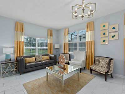 Photo for Scenic Champion | 5 Bedroom Townhouse with Modern Decor and Splash Pool!