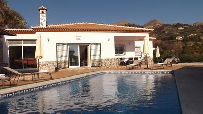 Photo for Villa Rosa, with Jacuzzi, WIFI and private pool
