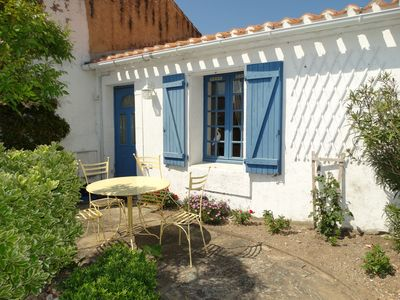 Photo for Typical house of Croix de Vie & its 2 courtyards
