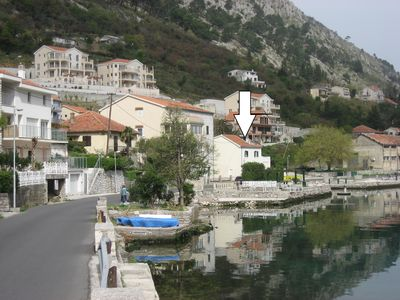 Photo for Waterfront House Walking Distance to the Old Town of Kotor