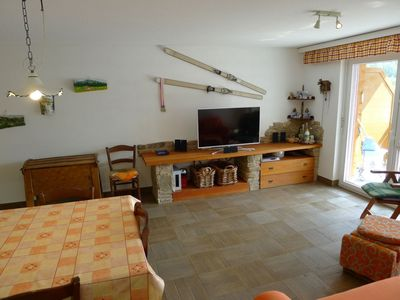 Photo for Apartment in the center of Leukerbad with Lift, Parking, Balcony (49645)