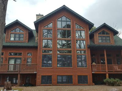 Photo for Majestic Retreat on Long Lake. 5+ BR / 5.5 BA