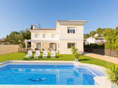 Photo for Villa Mijas: Private Pool, A/C, WiFi, Eco-Friendly