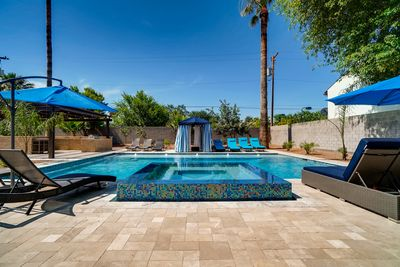 Luxury Pool & Spa for the family to enjoy privately!