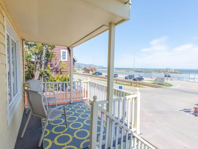 Photo for Breathtaking views of sparkling St. Lawrence River.