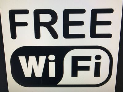 Fast and free wifi