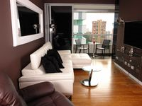 PROS: This is a great property overall. The finishes on the apartment are great, furniture is in