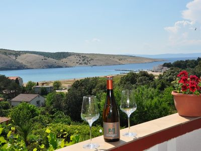 Photo for Apartment Bela  A2(2+2)  - Lopar, Island Rab, Croatia