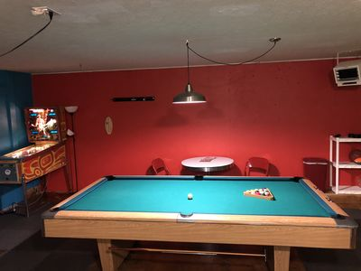 Gameroom! We are always updating to improve your stay!