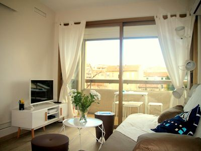 Photo for 2 rooms completely renovated with balcony in Old Antibes