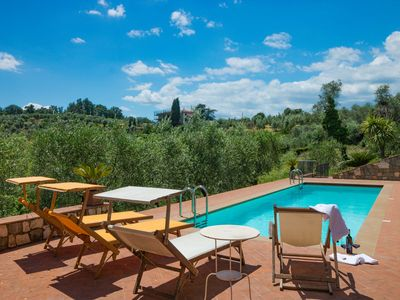 Photo for Podere Emaa - Country house with pool on the hills around Lucca. Free WIFI.