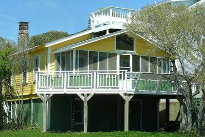 Charming Pet Friendly Oceanview Bungalow Prime Location Steps To Beach Folly
