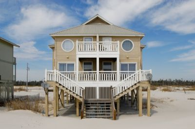 Photo for Island Dream West - Cute 3 Bedroom Gulf Front Duplex