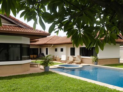 Photo for Relaxing and Spacious Pool Villa