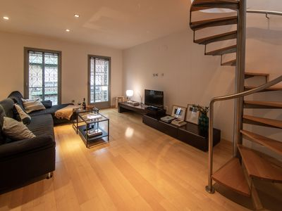 Photo for Central Roof Terrace Penthouse + free Parking