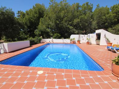 Photo for Villa with private pool and barbecue