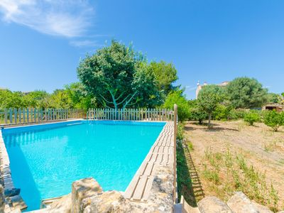Photo for HORT DE CAN BOU - Villa with private pool in PORRERES.