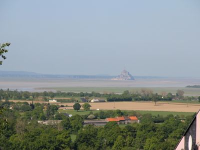 Photo for House overlooking the bay of Mont Saint Michel. 4/10 people. Private tennis.