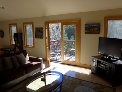 Photo for Downtown Luxury Loft Condo on the River Walk in the Heart of Estes