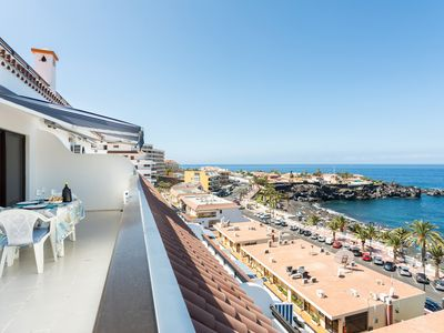 Photo for SPECTACULAR PENTHOUSE WITH SEA AND BEACH VIEWS, FREE WIFI