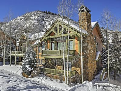 Photo for Magnificent 4BR Ski-In/Ski-Out Edwards Townhome!