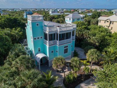 Photo for Happy Hours Beach House - Your Happiness Begins Here - Luxury, Pool, 2 Golf Cart