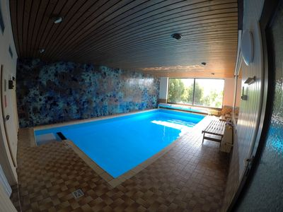 Photo for Large holiday home with pool and sauna for 8 (-10) persons in the middle Fuldatal