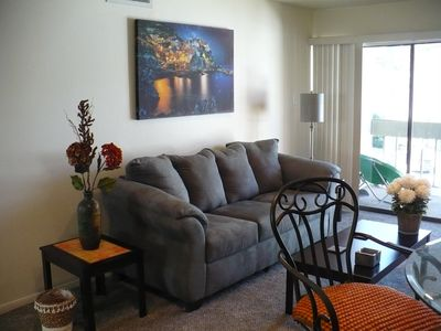 Photo for Vacation condo next to the marina and two parks.