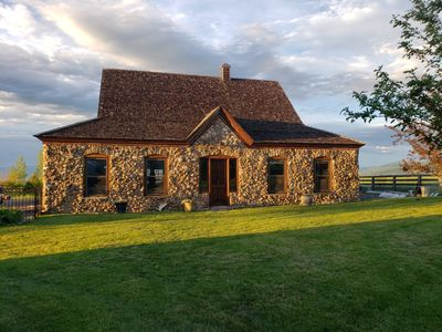 Photo for Stone House With Incredible Views; 20 Minutes to Downtown Bozeman, 35 to Big Sky