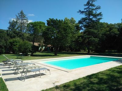 Photo for House with large pool in the heart of the Luberon