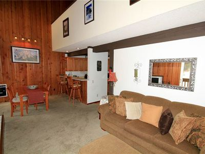 Photo for Mammoth Ski and Racquet Club #120, Studio-Loft, Remodeled Pet Friendly Condo!