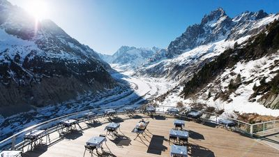 Montenvers A1 is a sleek contemporary HomeAway Chamonix