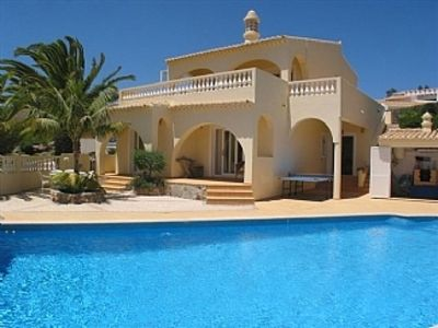 Photo for FABULOUS SOUTH FACING 3 BEDROOM VILLA WITH VERY LARGE HEATED POOL